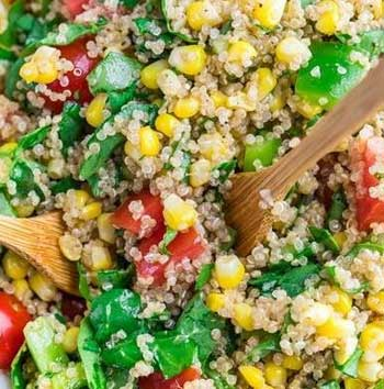 Quinoa Vegetable Salad